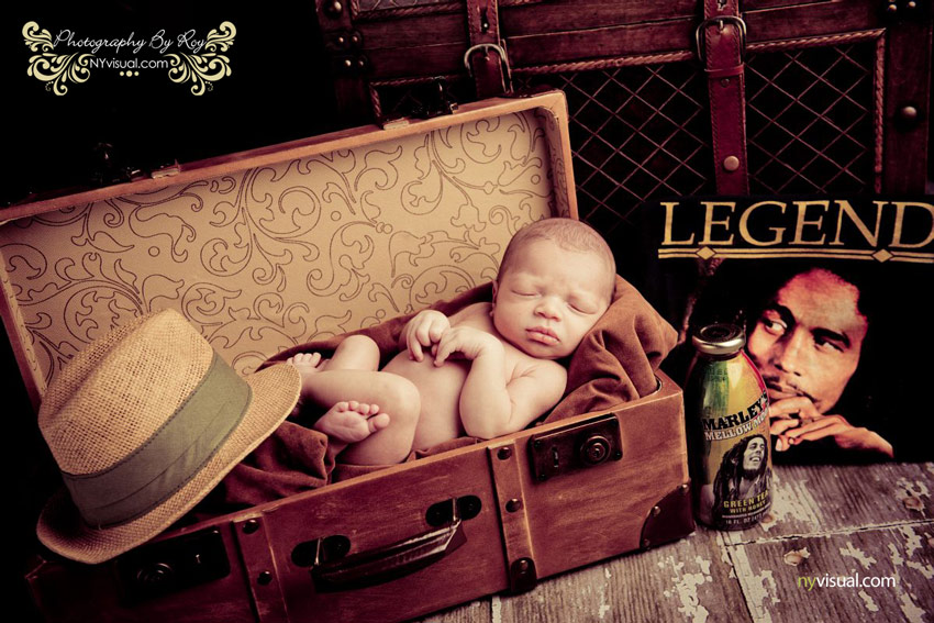 Fun Newborn portrait nyc