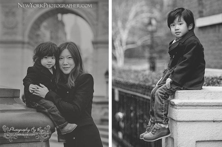 Winter Family Photos Manhattan